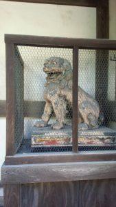 日牟禮八幡宮 狛犬