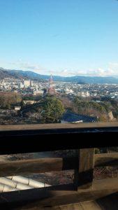 彦根城から眺望