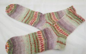 ドイツ製毛糸ソックスC