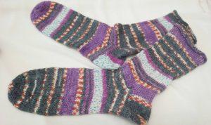 ドイツ製毛糸ソックスD