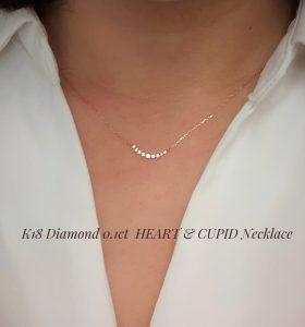 K18 H&Cダイヤモンドネックレス